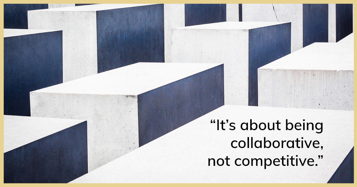 collaborative not competitive