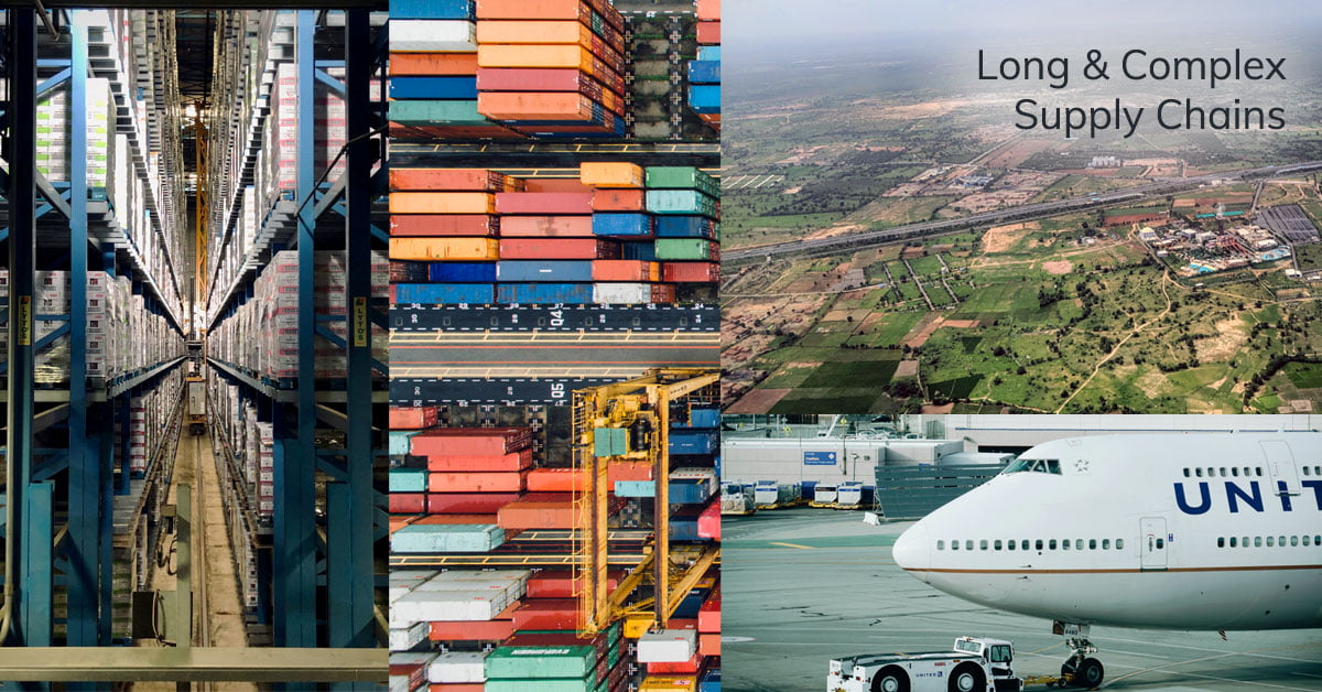 Long and complex supply chains