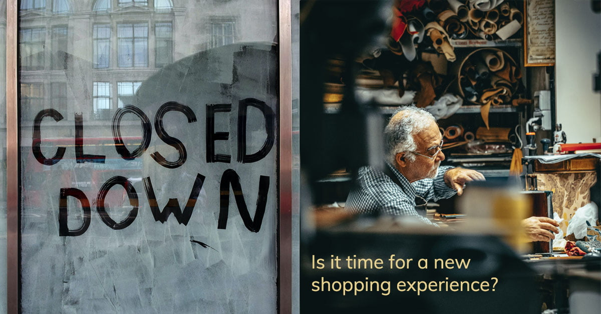 Time for a new shopping experience?